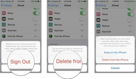 to delete icloud account on iphone how to set up and customize icloud on your iphone