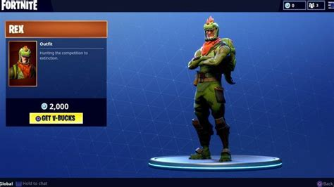 fortnite rex skin   unlock   fortnite skin