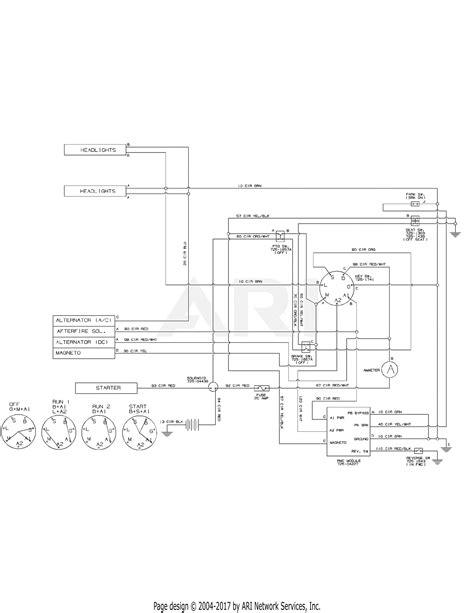 mtd axs  parts diagram  wiring diagram
