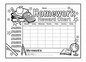 Rewards Chart Homework And Charts On Pinterest
