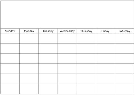monthly blank calendar page custom calendar maker