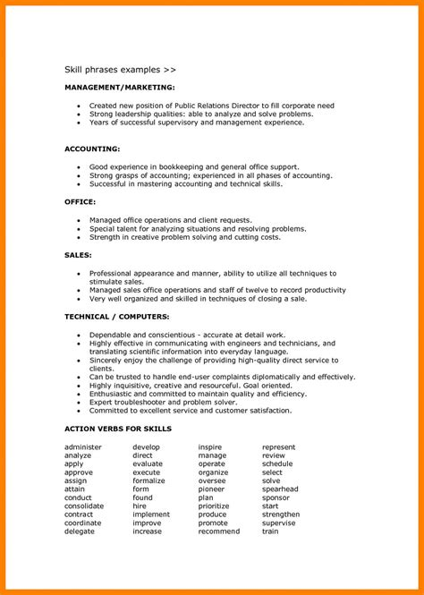 Skills For Cv by Resume Format Language Skills Format Language Resume