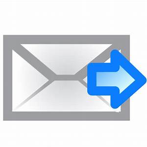 Email, envelope, forward, right icon | Icon search engine