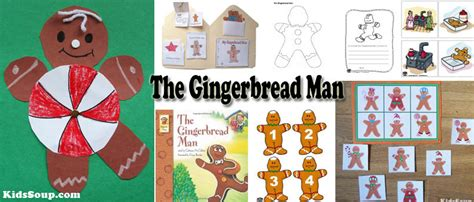 the gingerbread crafts activities and lessons 742 | Gingerbread Man Activities Preschool