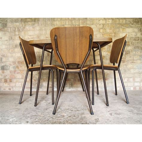vintage formica table and chairs retro formica table and chairs