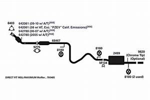 32 2007 Chevy Cobalt Exhaust System Diagram