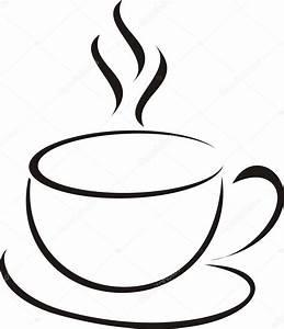 Kaffeetasse Zum Ausmalen : x cara de caf vetor de stock alexshebanov 1417936 ~ Orissabook.com Haus und Dekorationen