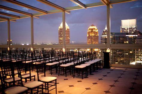 rooftop wedding atlanta rooftop weddings fabulous open