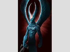 A Wolf Illustrations Blog Fallen Archangel Samael