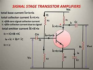 Signal Stage Transistor Amplifiers