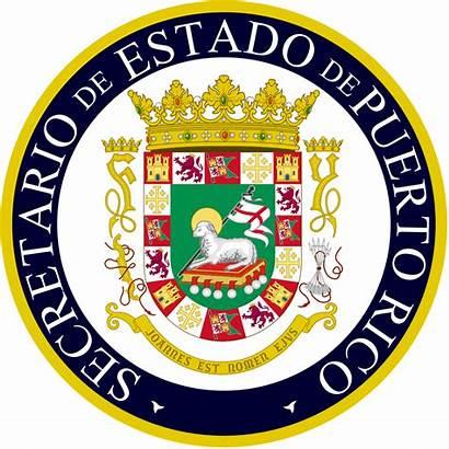 Seal State Secretary Puerto Rico Svg Wikipedia