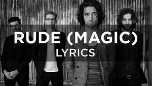 MAGIC! - Rude (Lyrics) - YouTube