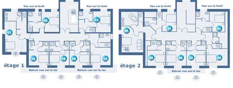 plan chambre hotel chambre hôtel gérardmer hébergement de vacances vosges