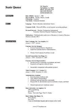 expertise cv template a4