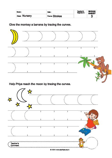Free Pre-Primary Worksheets