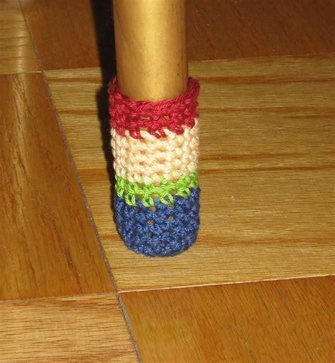 crocheted chair leg socks crochet pattern   creative