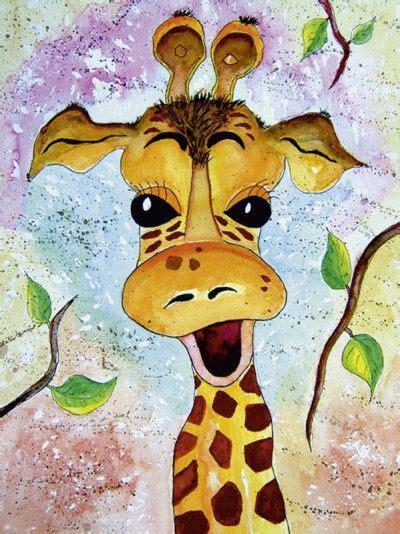 Kinderbilder Fürs Kinderzimmer by Siegfried2838 Giraffe Gisela Tiere Zeichnungen Gemalt