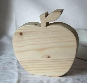 Herbstdeko Aus Holz : deko objekte apfel aus holz herbstdeko ein designerst ck von bille embellies bei dawanda ~ Watch28wear.com Haus und Dekorationen