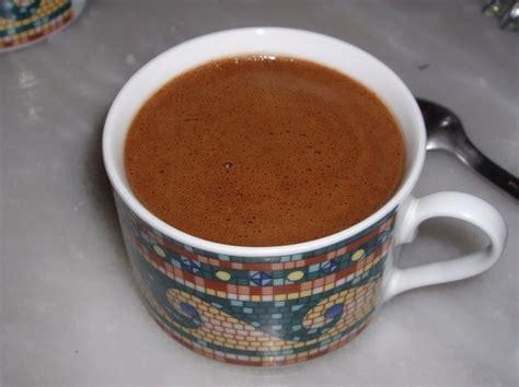 les bienfaits du chocolat chaud