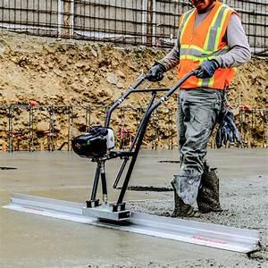 37 7cc Gas Vibrating Concrete Power Screed Aluminum Float And Sprayer  U2013 Tomahawk Power
