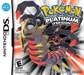 pokemon platinum wikipedia