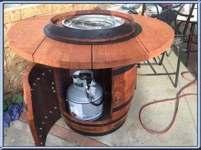barrel fire pit diy buscar  google havasu house