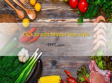 chef gourmet powerpoint template  powerpoint