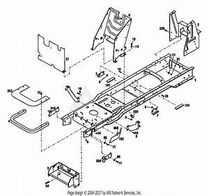 Troy Bilt 13085 13hp Hydrostatic Lawn Tractor  S  N