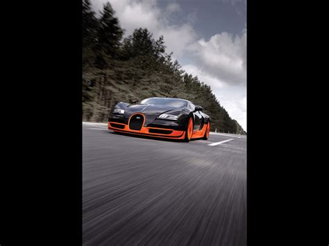 Despite numerous attempts to dethrone the super sport from its status as the fastest production supercar, the bugatti remains unbeaten to this day. 2010 Bugatti Veyron 16.4 Super Sport World Recordt - Front ...