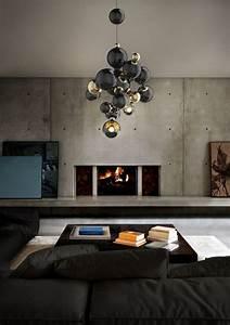 Suspension Salon Design : 5 interior lighting design ideas for milan luxury houses ~ Teatrodelosmanantiales.com Idées de Décoration