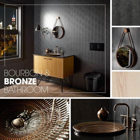bourbon bronze bathroom kohler ideas