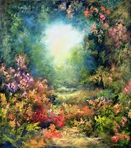 Rococo Art Landscape Paintings