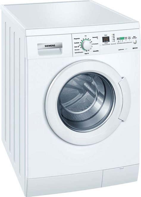 siege siemens siemens wm14e3eco test frontlader waschmaschine