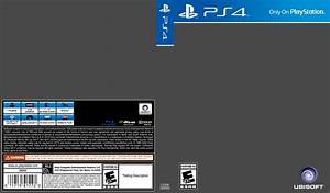 ps4 cover template by etschannel on deviantart With video game cover template
