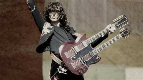 jimmy page recalls   father reacted   guitar