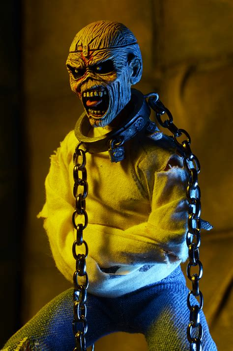 """Iron Maiden 8"""" Clothed Action Figure Piece of Mind ..."""