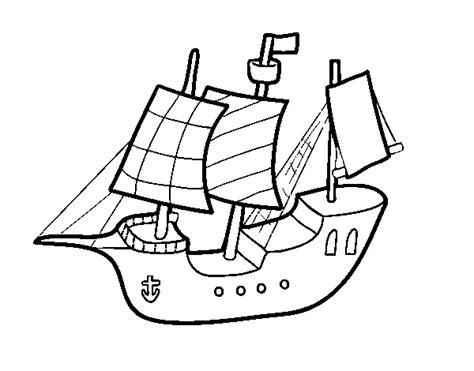 Barco De Vela Antiguo Dibujo by Dibujo De Barco De Juguete Para Colorear Dibujos Net