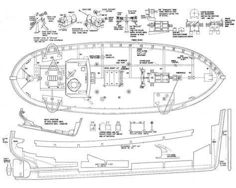 Boat Drawings Plans by 17 Best Ideas About Model Boat Plans On