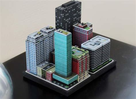build  mini city   printing gadgetsin