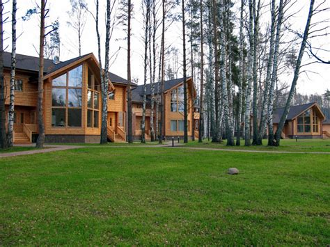 log cabin lodge artichouse lodge russia