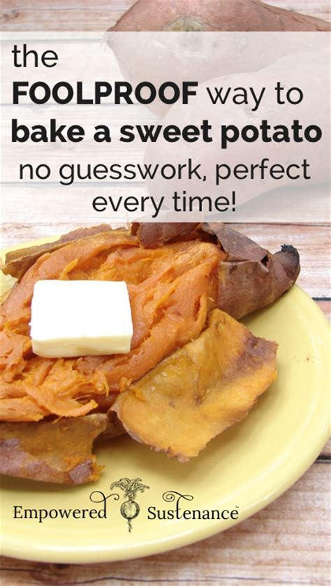 how to cook sweet potato how to cook a baked potato in the oven