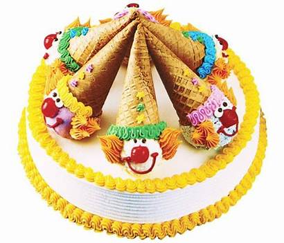Baskin Robbins Birthday Ice Cream Cake Clown