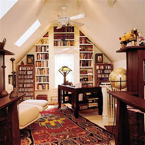 attic library design small home library designs bookshelves for decorating small spaces