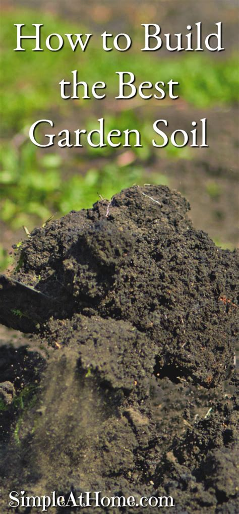 How To Build The Best Garden Soil  Simple At Home