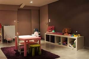 idee salle de jeux moderne With idee deco salle de jeux