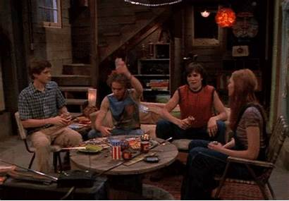 70s Eric Donna Forman Hyde Kelso Couch