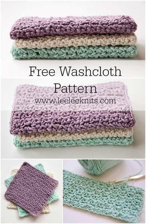 crochet washcloth instructions my favourite crochet washcloth leelee knits