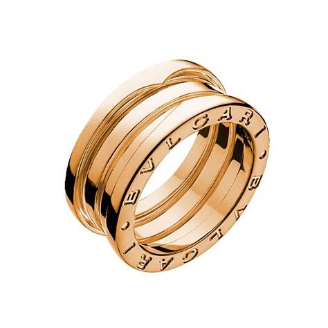 bulgari bzero1 bulgari jewelry b zero1 18k gold 3 band ring an852405