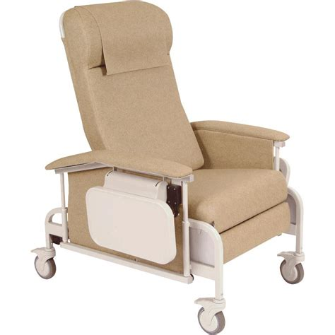 winco three position drop arm carecliner chairs