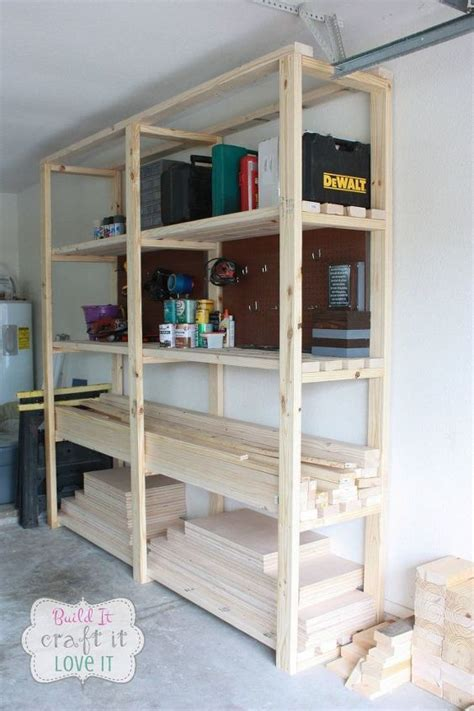 Garage Shelving Projects by Easy Diy Garage Shelving Hometalk